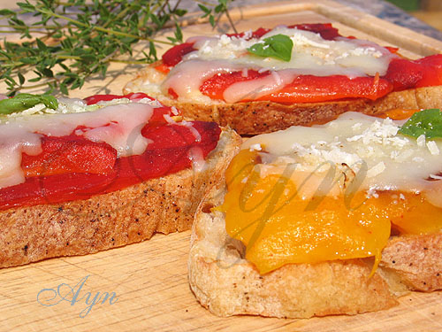 sweetpepperbruschetta