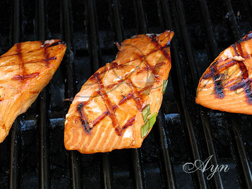 salmongrilling