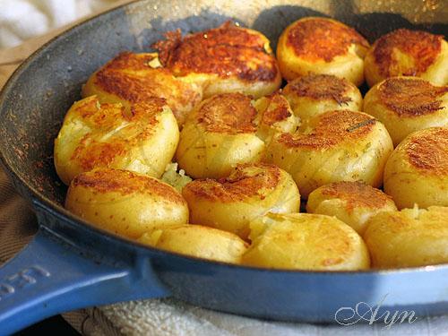 картофель, на второе,