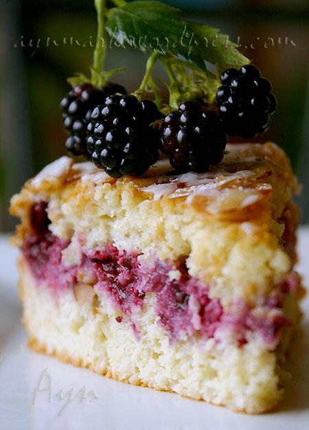 lemonblackberrycake