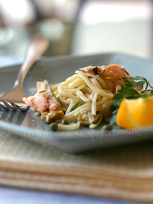 LinguineSalmon