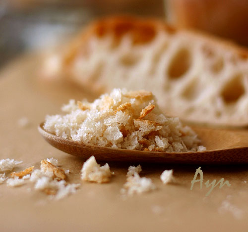 Как сделать крошка хлебная